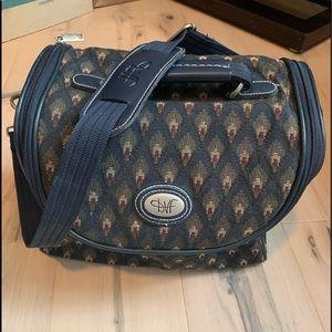 DIANE VON FURSTENBERG~vintage travel make up bag